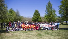 华夏学人协会和休斯顿湖南同乡会 成功联合举办了2017年春季野餐会活动